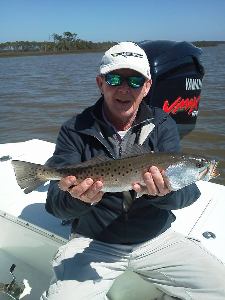 Apalachicola bay trout and flounder for Apalachicola fishing charters