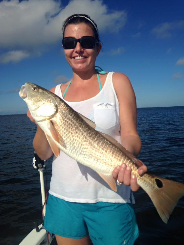Atlanta couples catchin 39 redfish perfect cast charters for Fishing in atlanta