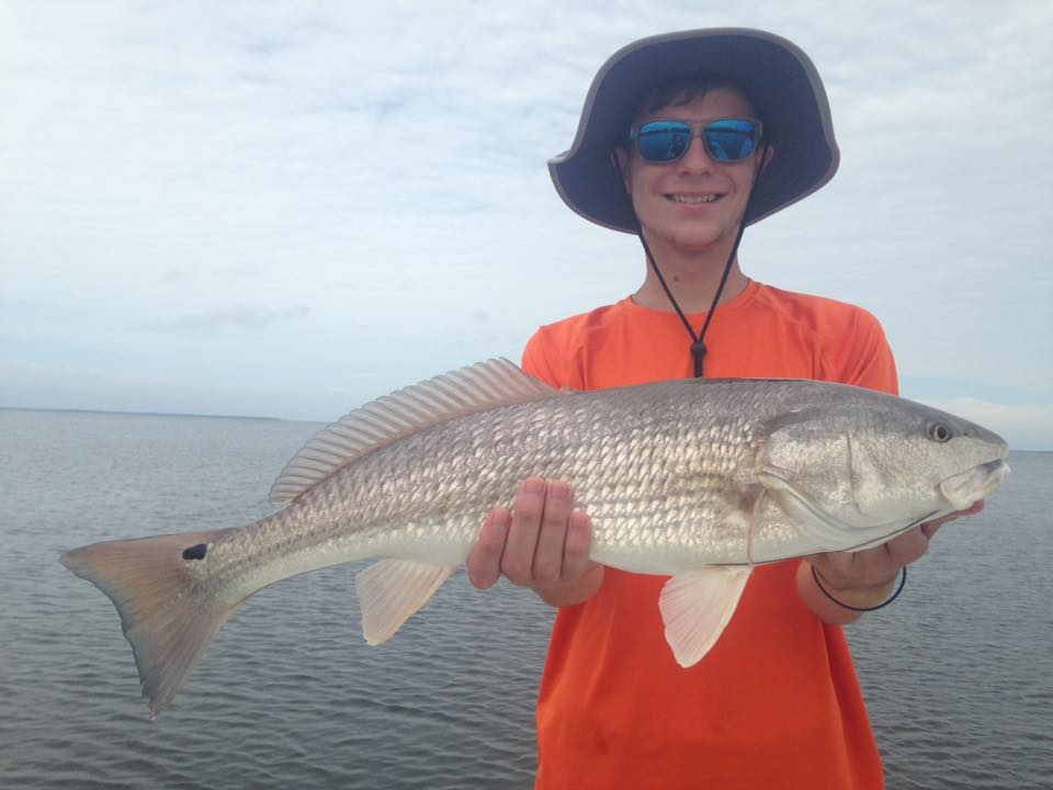 Three generations catching redfish today at cape san blas for How is fishing today