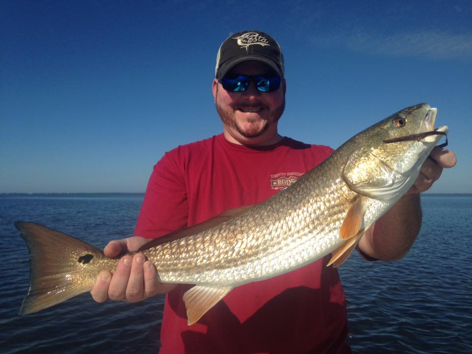 chris 39 s first ever redfish perfect cast charters