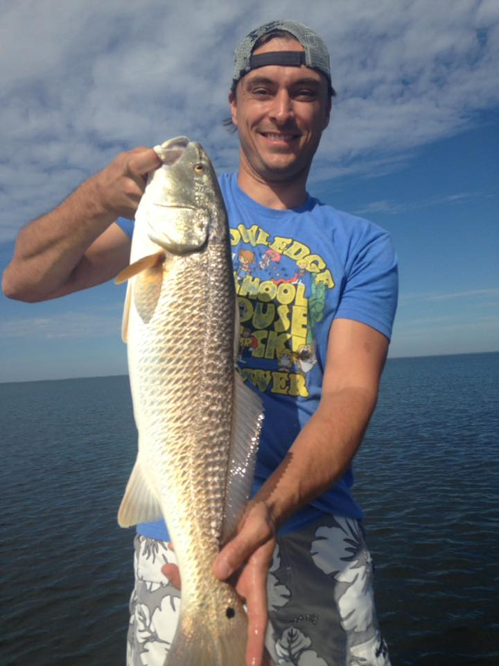 Atlanta crew crushes the cape redfish and trout for Cape san blas fishing