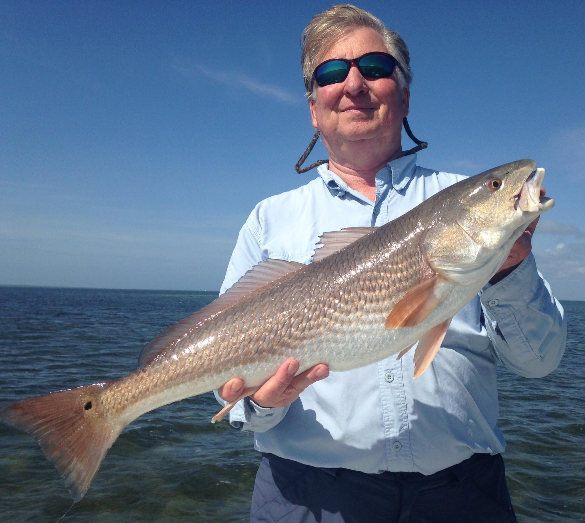 What a great day for this atlanta crew perfect cast for Cape san blas fishing report