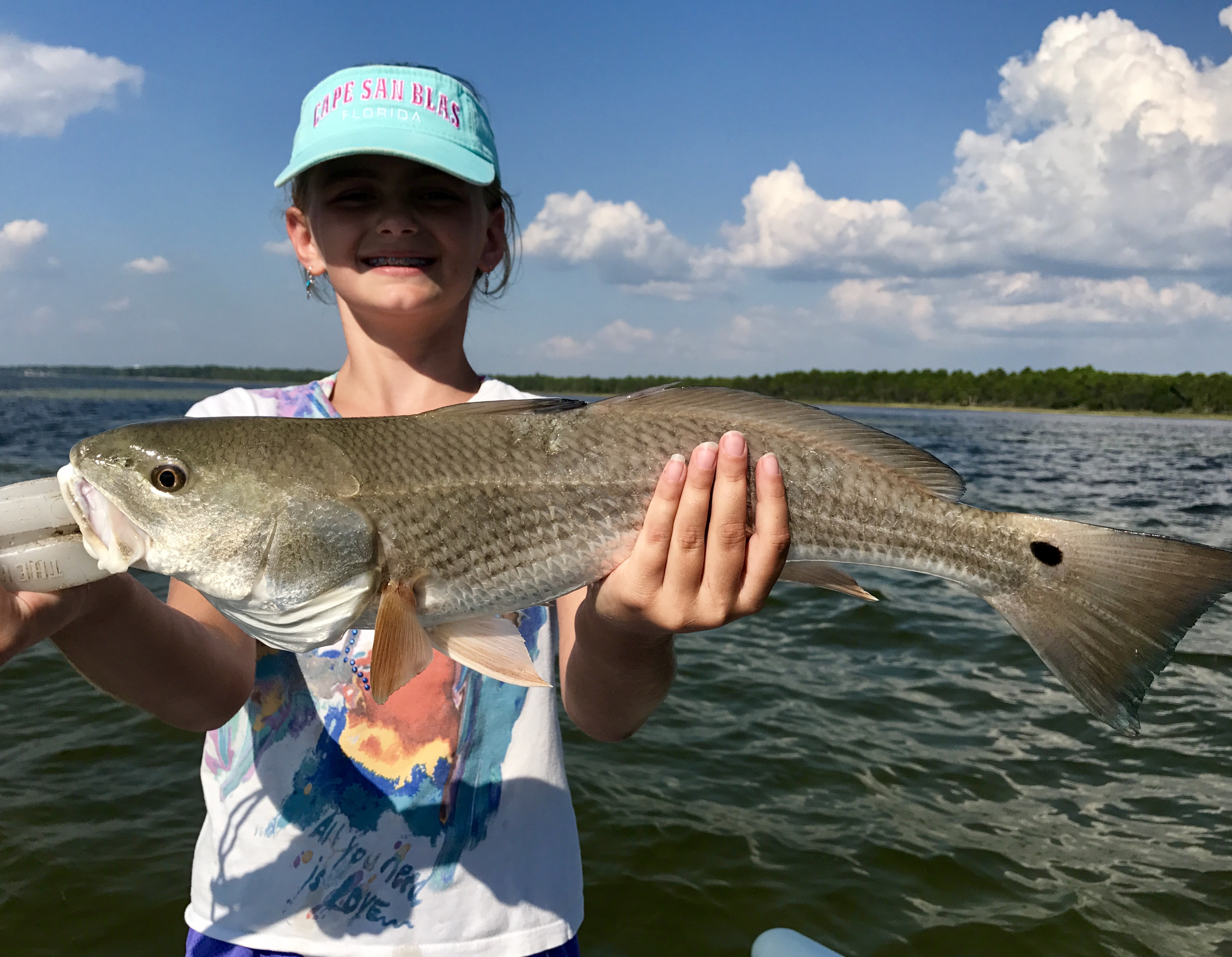 Kids big fish and memories fun perfect cast charters for Big fish cast